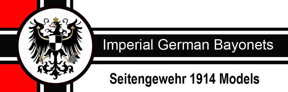 Imperial German Bayonets
